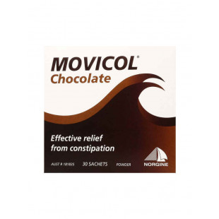 Movicol Constipation Relief – 30 Chocolate Powder Sachets