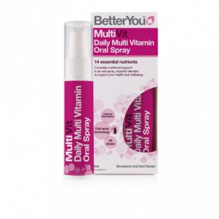 BetterYou MultiVit Oral Spray - 25ml