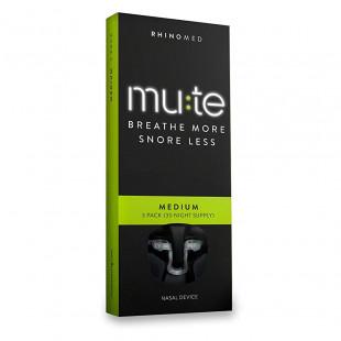 Mute Nasal Snoring Device - Medium (30 Night Supply)