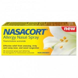 Nasacort Allergy Nasal Spray – 30 Sprays