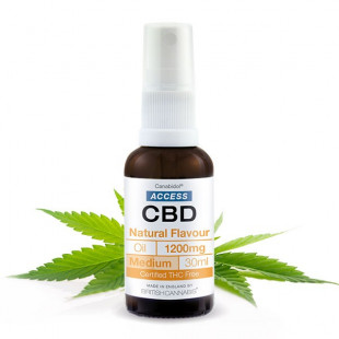 Access CBD Oil Natural Flavour - 1200mg