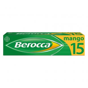 Berocca Mango - 15 Effervescent Tablets