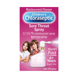 Ultra Chloraseptic Children's Blackcurrant Throat Spray – 15ml