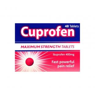 Cuprofen Maximum Strength 400mg - 48 Tablets