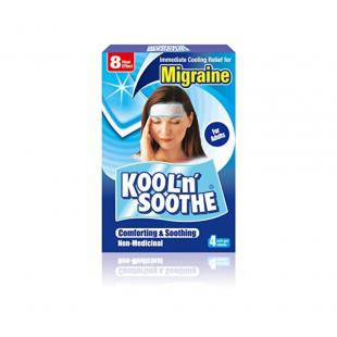 Migraine Kool 'N' Soothe Migraine - 4 Soft Gel Sheets