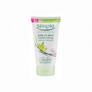 Simple Moisturising Foaming Face Wash – 150ml