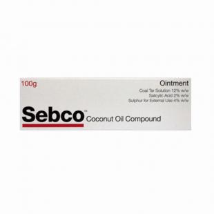 Sebco Coconut Oil Compound Ointment – 100g