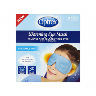 Optrex Warming Eye Mask Unscented -2 Pack