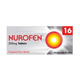 Nurofen Pain Relief 200mg Capsules - 16 Pack