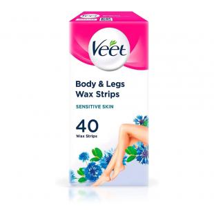 Veet Wax Strips For Sensitive Skin - 40