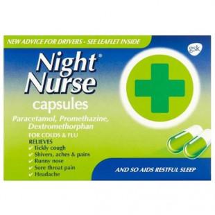 Night Nurse Capsules - 10 Pack