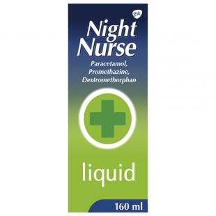 Night Nurse Cold Remedy – 160ml