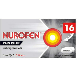 Nurofen Joint And Back Pain Relief 256mg Capsules - 16 Pack