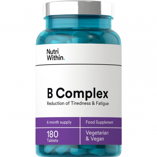 Nutri Within Vitamin B Complex - 180 Tablets