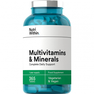 Nutri Within Multivitamin & Mineral 365 Tablets