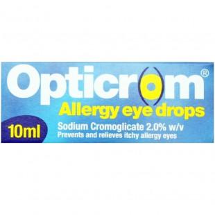 Opticrom Allergy Eye Drops – 10ml
