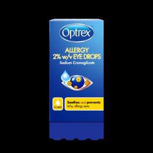 Optrex Allergy 2% w/v Eye Drops - 10ml (Pack of 3)