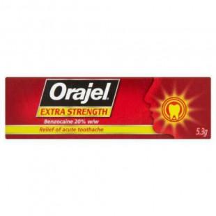 Orajel Extra Strength Dental Gel - 5.3g