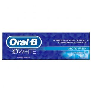 Oral-B 3D White Arctic Fresh Toothpaste – 75ml