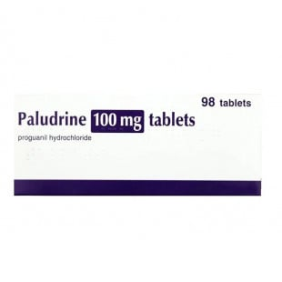Paludrine 100mg Tablets - Pack of 98
