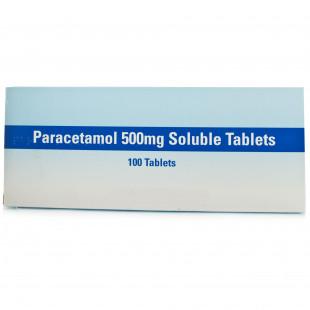 Paracetamol Soluble Tablets - 100 x 500mg (Expires 01/22)