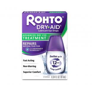 Rohto Dry Aid Intensive Lubricating Eye Drops - 10ml