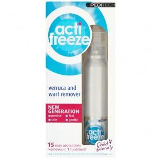 Peditech ActiFreeze Wart and Verruca Remover - 38ml