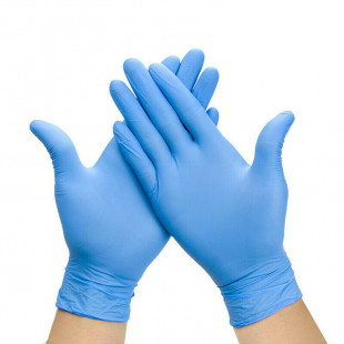 Nitrile Gloves - Small - Pack of 100 (Colour May Vary)