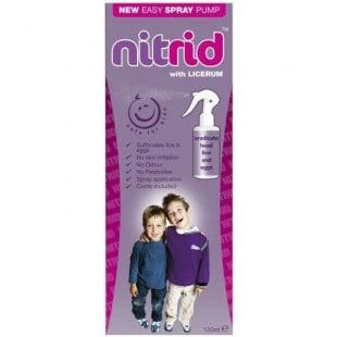 Nitrid Head Lice Treatment - 120ml