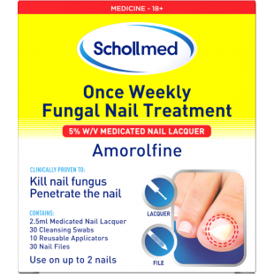 Schollmed Fungal Nail Treatment 5% 2.5ml