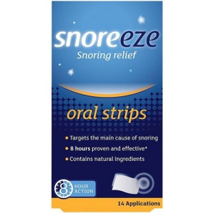 Snoreeze Oral Strips - 14