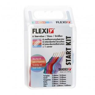 Tandex Flexi Interdental Starter Kit - 6 Varieties