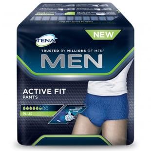 Tena Men Active Fit Pants Plus - Medium 9 Pack