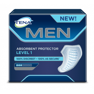 Tena for Men Absorbent Protector Level 1 - 12 Pack