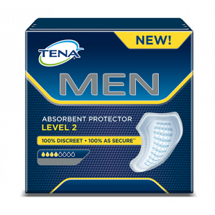 Tena For Men Absorbent Protector Level 2 - 10 Pack