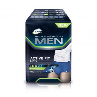 Tena Men Active Fit Pants Plus - Large 8 Pack