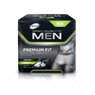 Tena Men Premium Fit Level 4 Pants - Medium 10 Pack