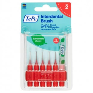 TePe Interdental Brush - 0.5mm Red