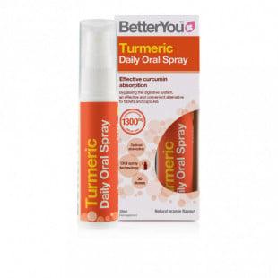 BetterYou Turmeric Daily Oral Spray - 25ml