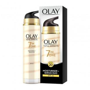 Olay Total Effects Anti-Ageing Moisturiser & Serum Duo SPF 20 - 40ml