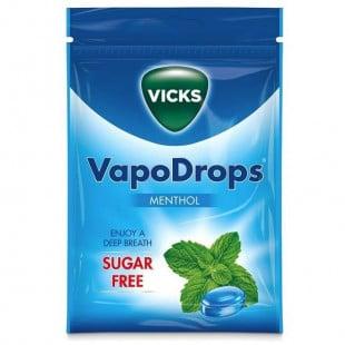 Vicks Vapodrops Sugar-Free Menthol – 72g