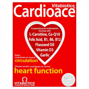 Vitabiotics Cardioace - 30 Tablets