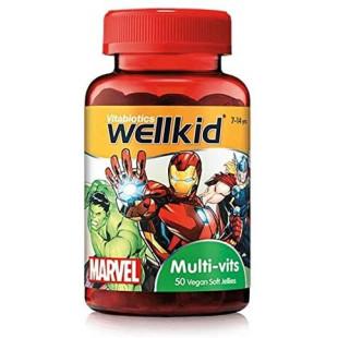 Vitabiotics Wellkid Multi Vitamins - 50 Vegan Soft Jellies