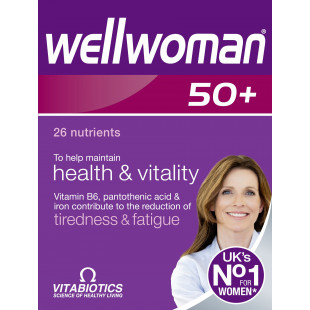 Vitabiotics Wellwoman 50+ - 30 Tablets