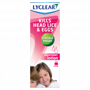 Lyclear Head Lice Lotion And Comb – 100ml