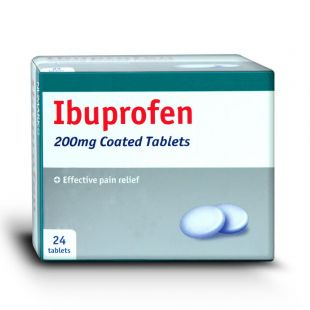 Ibuprofen Tablets 200mg 24 Tablets (Brand May Vary)