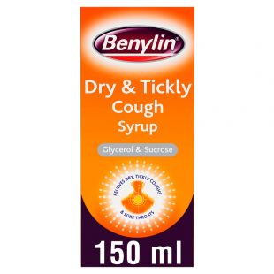 Benylin Dry & Tickly Cough Syrup - 150ml