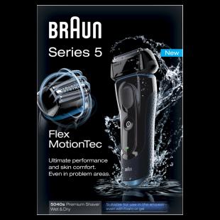 Braun Series 5 5040s Premium Wet and Dry Shaver