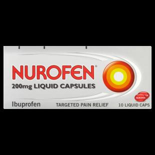 Nurofen Liquid Capsules 200mg - 10 Pack