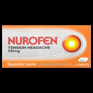 Nurofen Tension Headache - 12 x 342mg Caplets